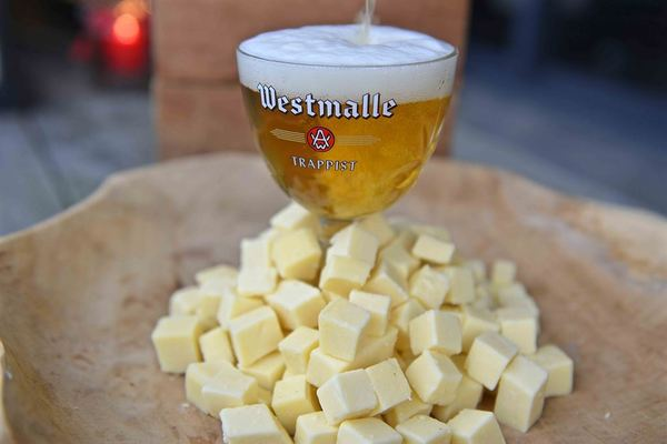 Westmalle Tripel, Westmalle trappist cheese