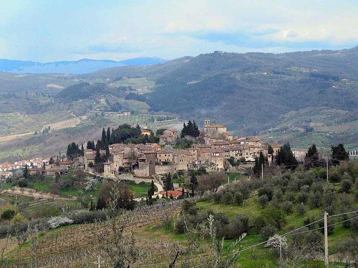 Montefioralle, Greve in Chianti