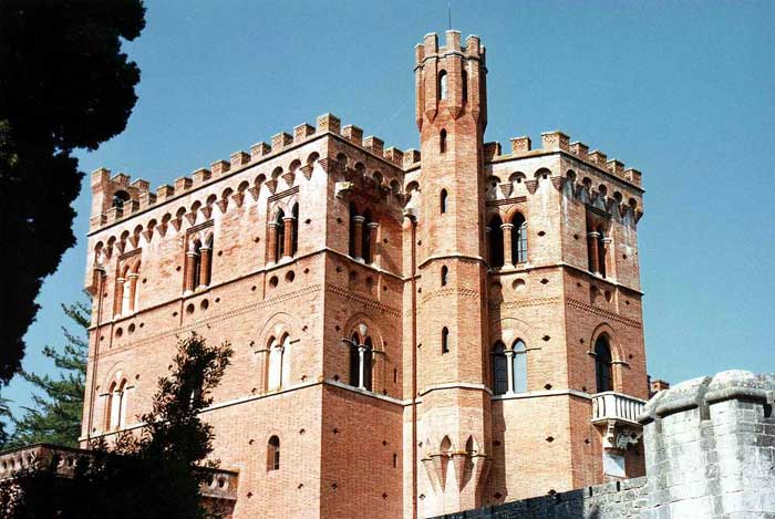 Castle Of Brolio, Gaiole In Chianti