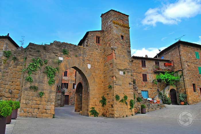 Monticchiello of Pienza, Siena