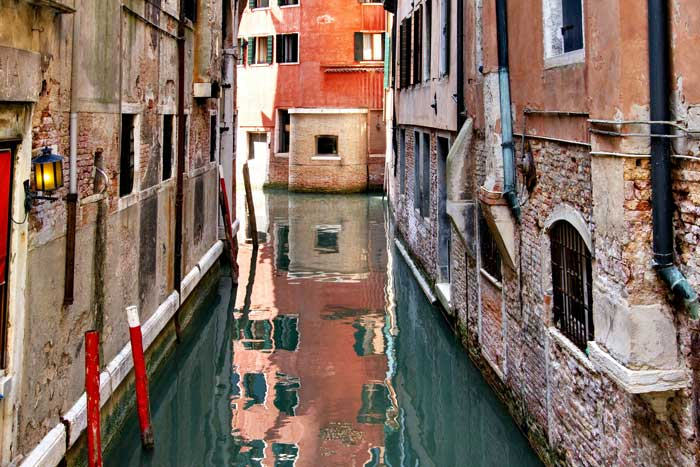 Venice Waterway, Italy