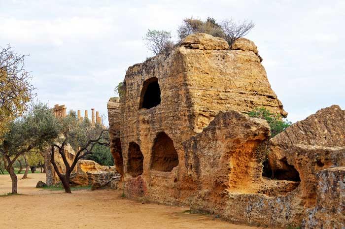 Byzantine Graves, Agrigento, Sicily