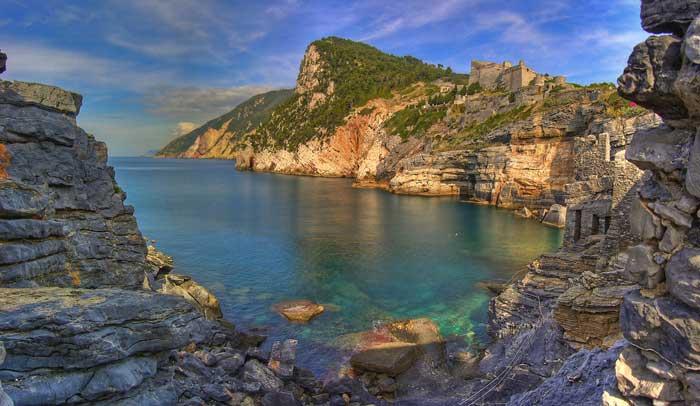 Byron's Grotto, Porto Venere, Liguria