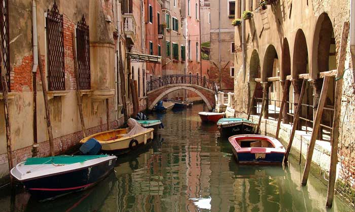Secondary Waterway, Venice