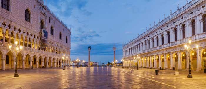 Piazza San Marco at Dawn, Venice