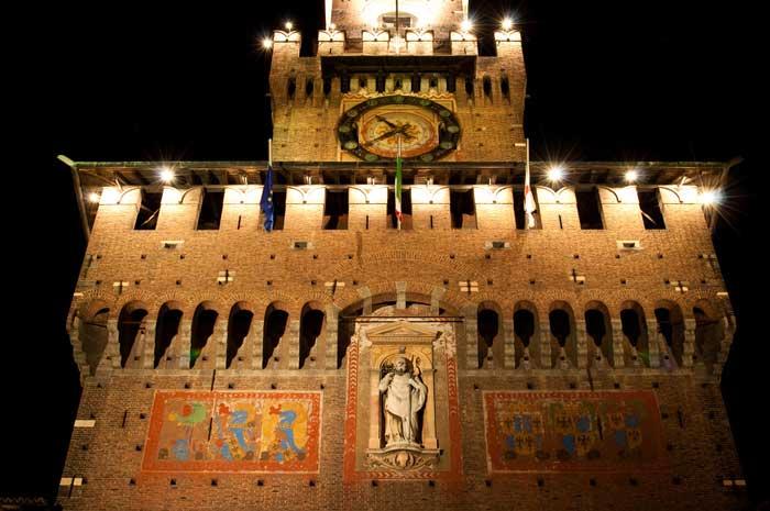 Torre del Filarete, Castello Sforzesco, Milan