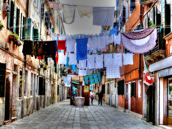 Washing Day in Venice