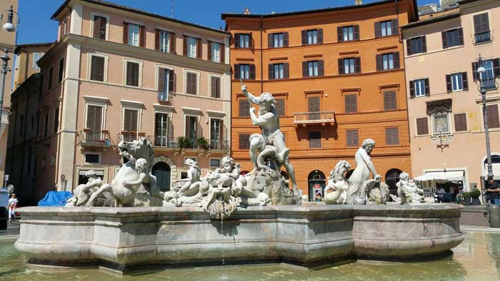 Fountain of Neptune, Piazza Navona Fountain