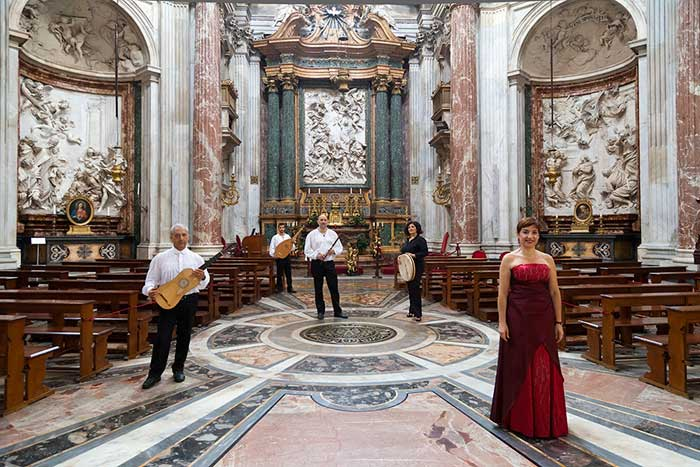 Schola Romana Ensemble Performing in Sant'Agnese in Agone