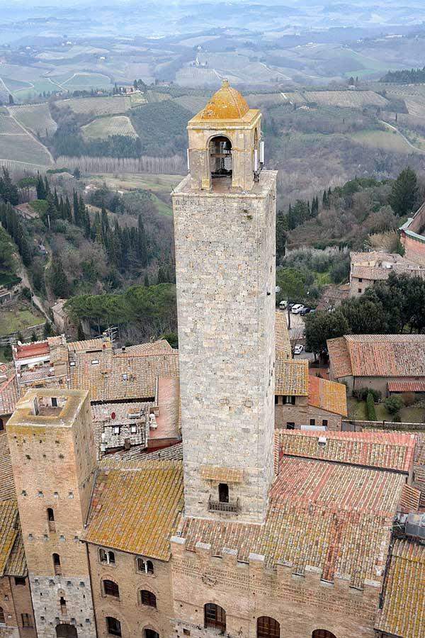Torre Rognosa, San Gimignano, Tuscany, Italy