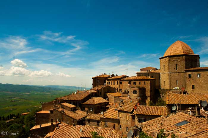 Volterra, the Etruscan Alabaster Town in Tuscany