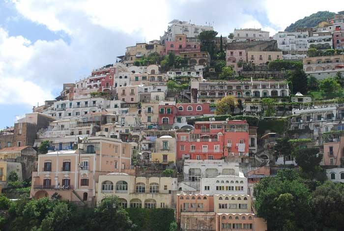 Hillhouses, Positano, Campania