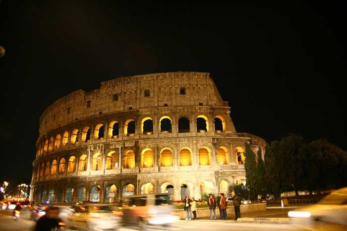 Roman Flavian Amphitheater, Colosseum