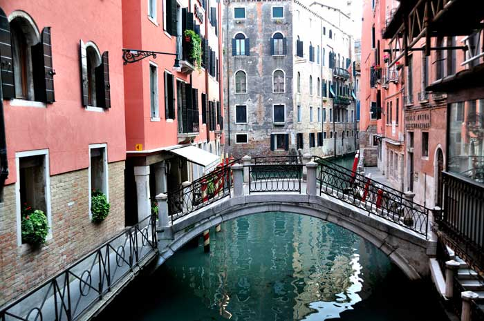 Delightful Water Street in Venice