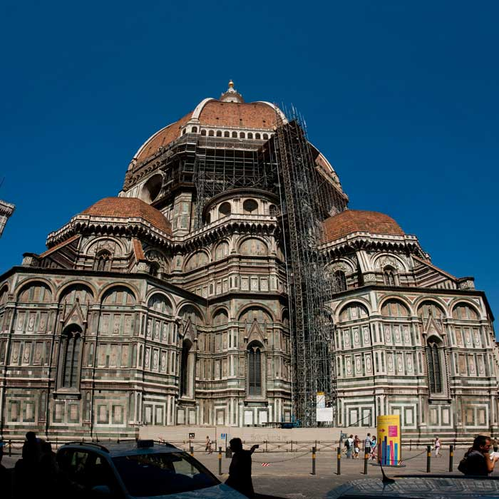 Apse of the Cathedral of Florence, Italy