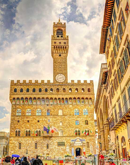 Palazzo Vecchio_ Town Hall of Italy, Florence