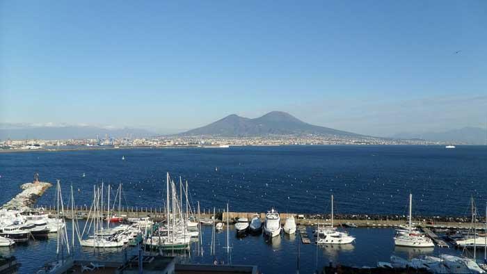 Naples and the Vesuvius