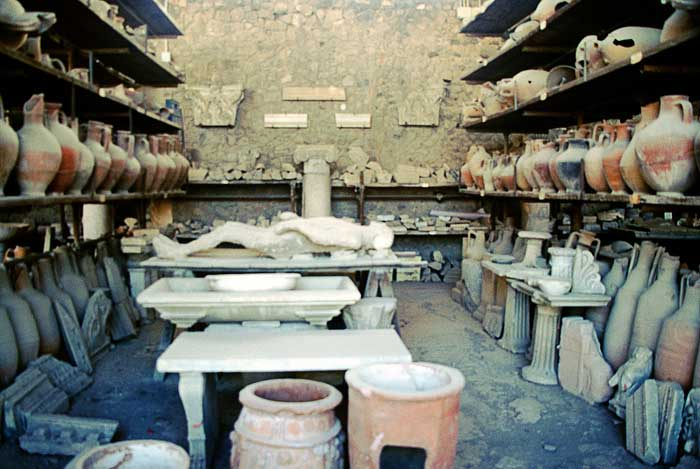 Pompeii Workshop, Naples, Italy