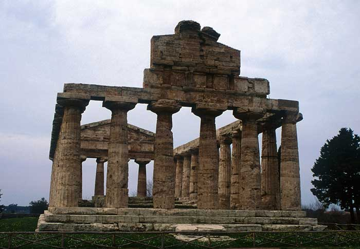 First Temple Of Hera, Paestum, Campania