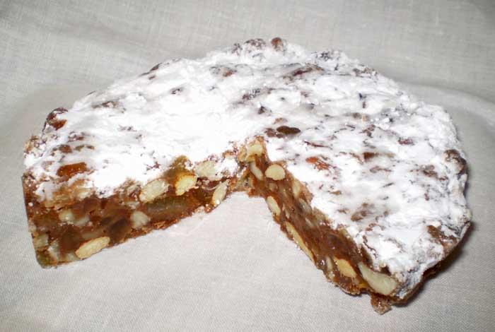 Traditional Panforte, Siena Sweet