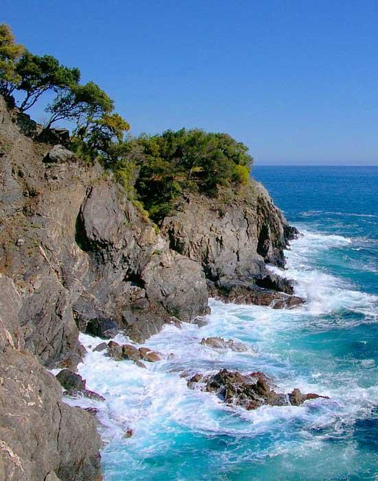 Azure Monterosso Coast, Cinque Terre, Italy