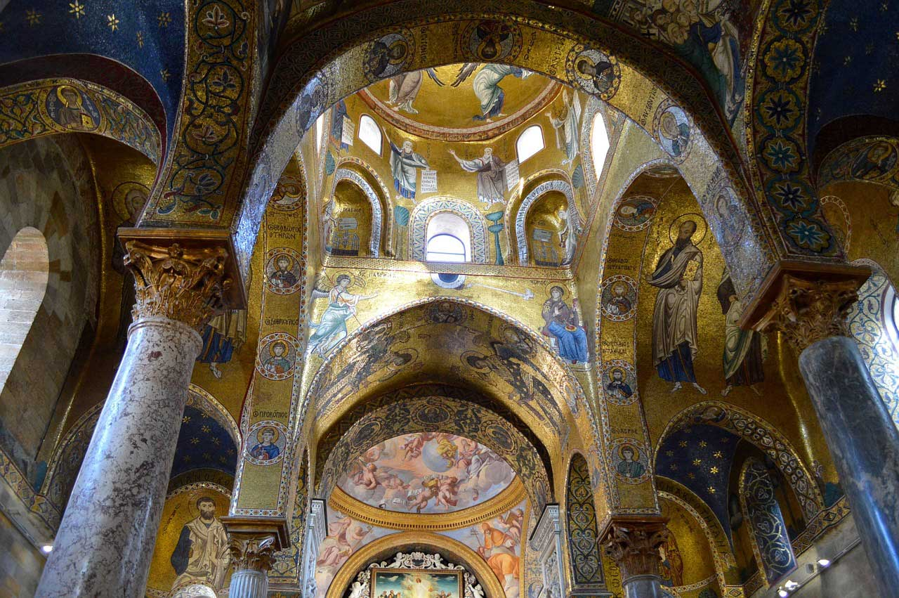 Arab-Norman Palatine Chapel, Palermo, Sicily