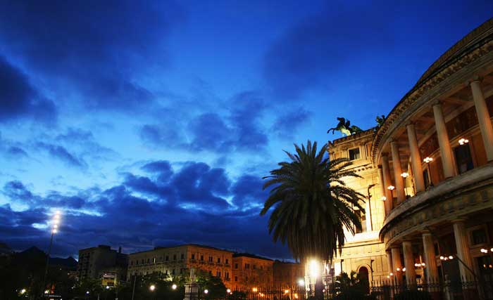Piazza Polteama and Teatro Politeama Garibaldi, Palermo
