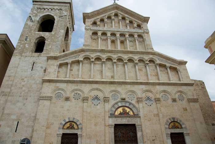 Cagliari Cathedral, Island of Sardinia, Mediterranean Sea