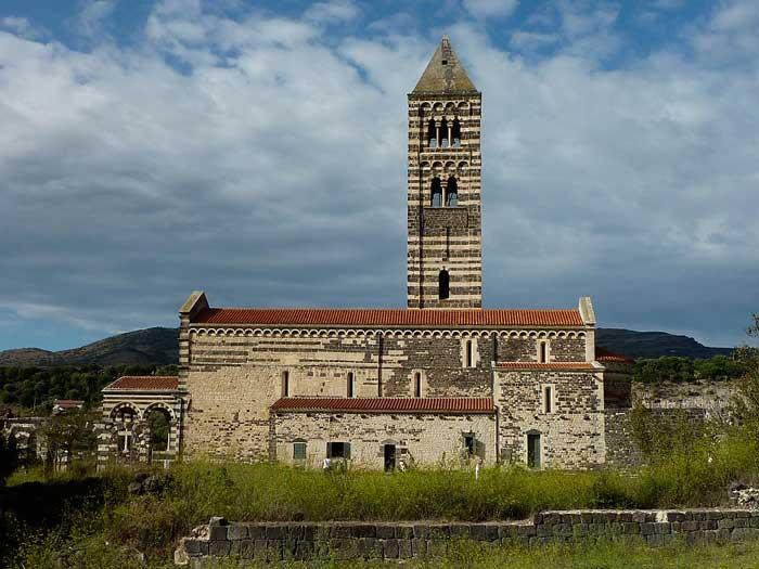 Basilica di Saccargia, Codrongianos, Northern Sardinia, Italy