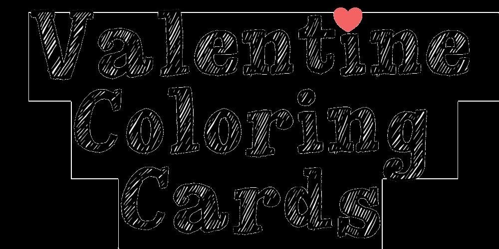 Valentinecoloringcardstitle