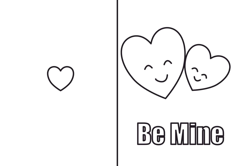 Valentinecardhearts
