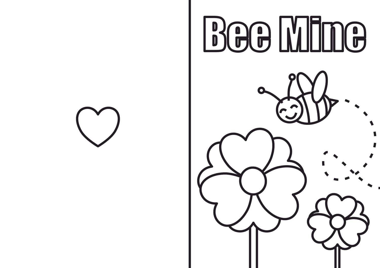 Valentinecardbee