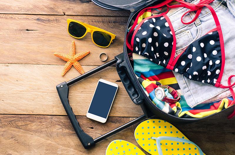 Lista azokrol a dolgokrol, amelyek nem hianyozhatnak egy nyaralasrol
