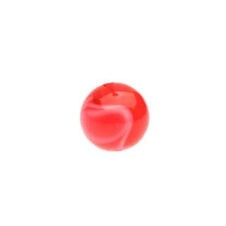 Acrylic Swirl 14g Balls for Belly Rings - 6mm