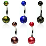 Fossil Ball Belly Rings image