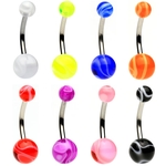 Marble Belly Button Rings image