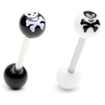 Skull & Crossbone Barbell / Tongue Ring image