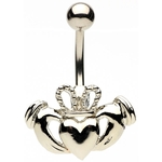 Claddagh Belly Button Ring image