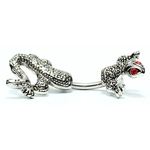 Red Eyed Chameleon Belly Ring image