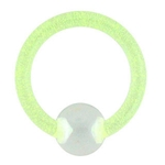 Glow in the Dark Captive Bead Ring image