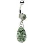 Amazonite Dangling Belly Ring image
