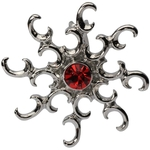 Sunburst Top Down Belly Ring image
