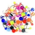 32 Pack Belly Rings image
