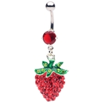 Strawberry Belly Button Ring image