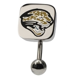 Jacksonville Jaguars NFL Top Down Belly Ring image