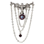 Iron Cross Top Down Chandelier Belly Ring image
