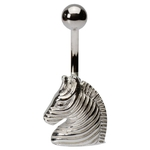 Zebra Belly Ring image