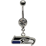 NFL Belly Ring Seattle Seahawks image