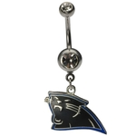 NFL Belly Ring Carolina Panthers image