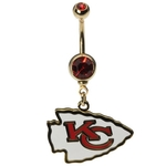 NFL Belly Ring Kansas City Chiefs image